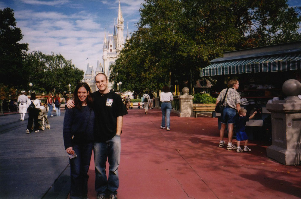 geeking it up with Jess at Disney World