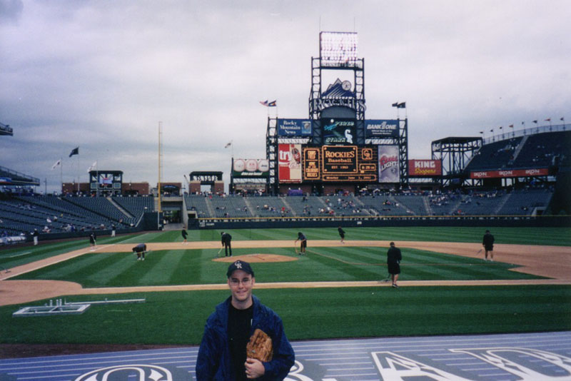 at Coors Field
