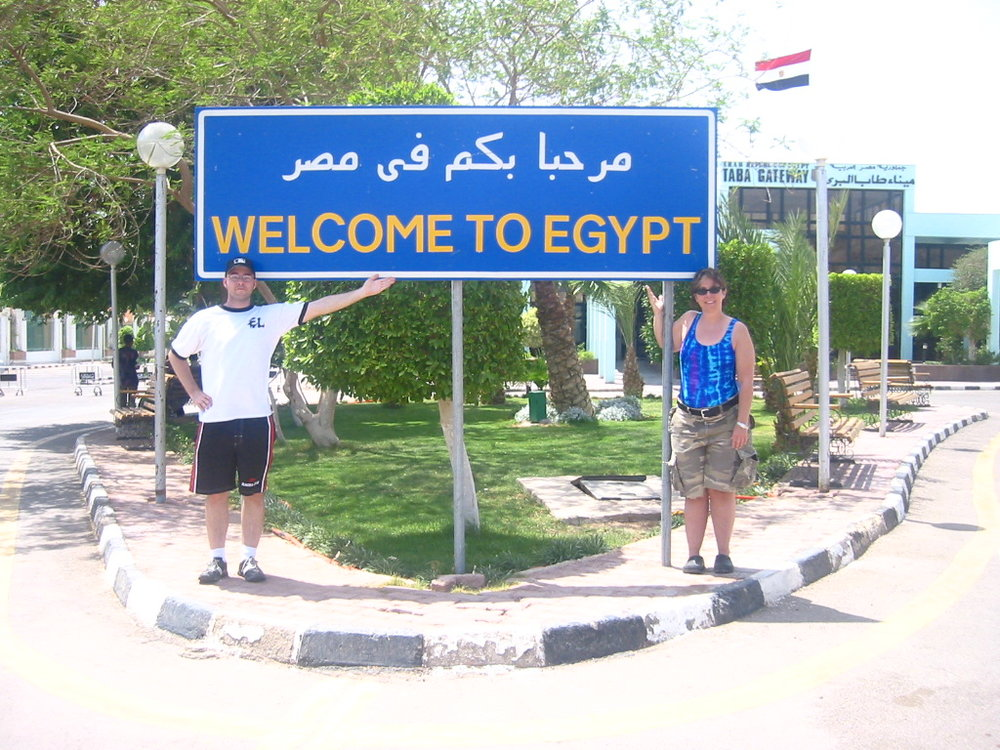 quick trip across the border to Egypt