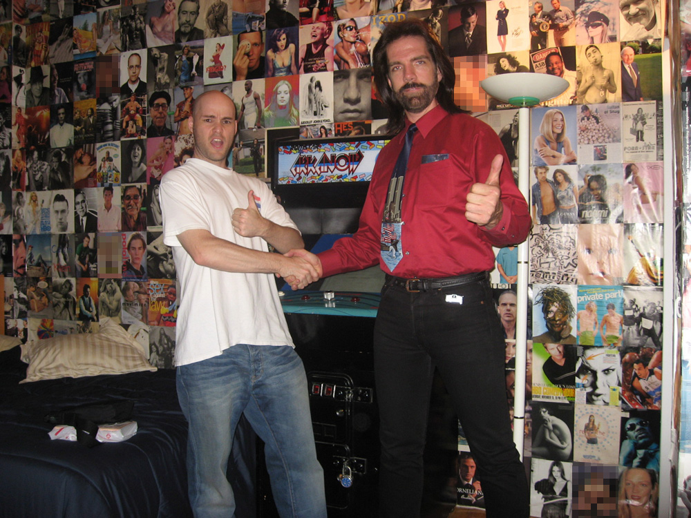 "at home with ""King of Kong"" star Billy Mitchell"