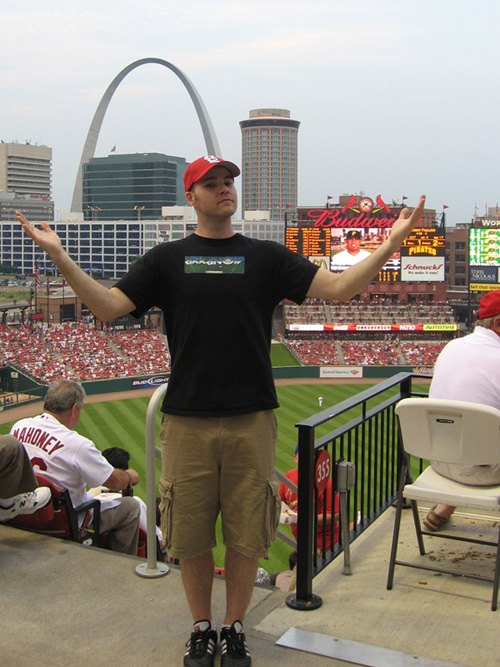 at Busch Stadium