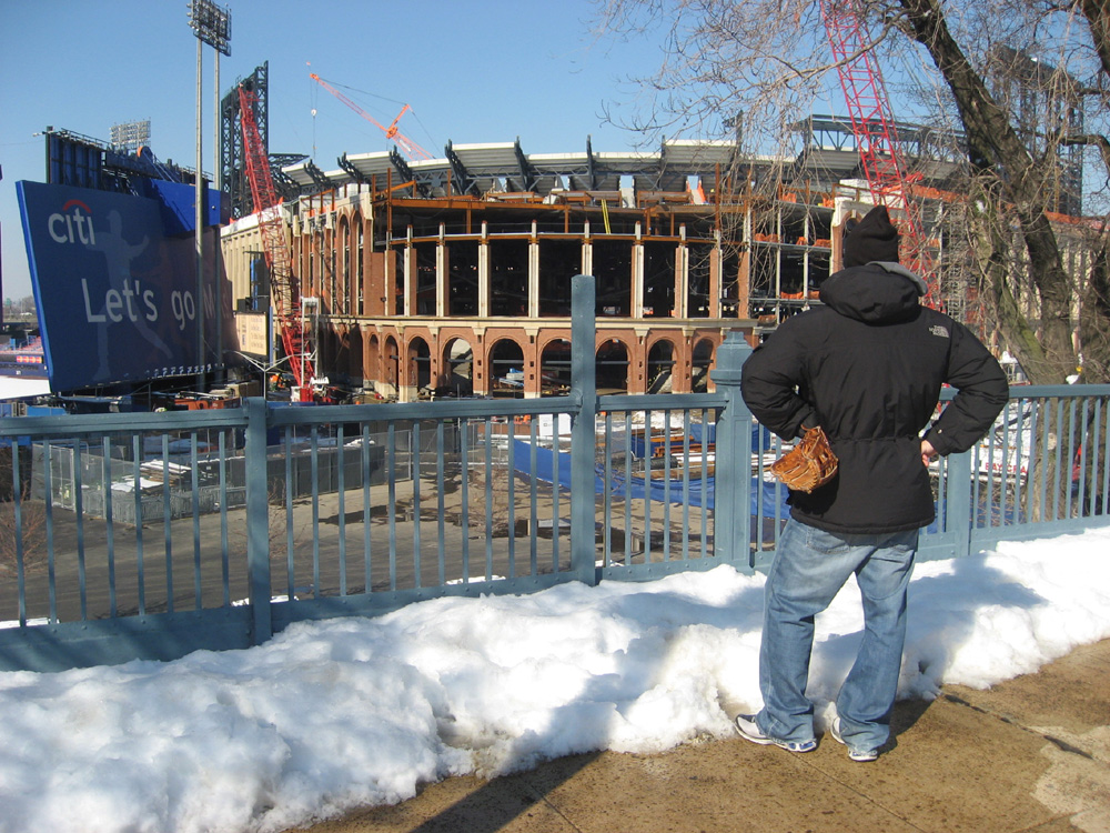 Citi Field construction — 13 months to go