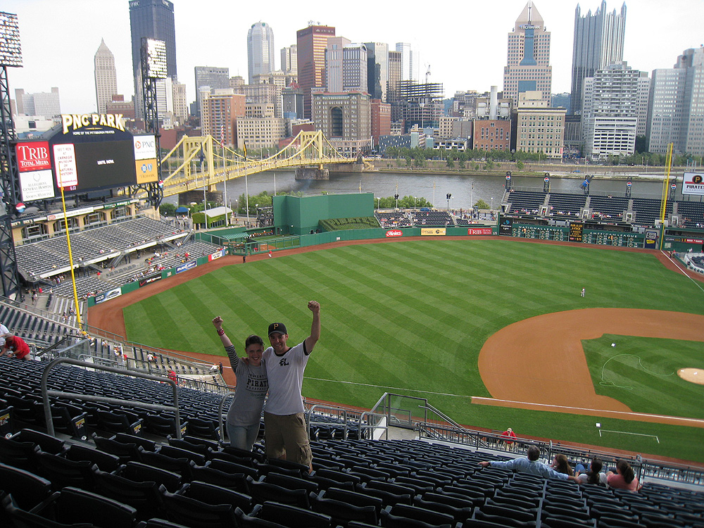 with Jona at PNC Park