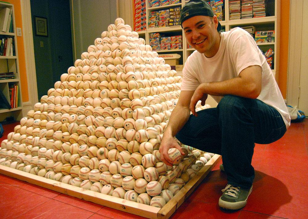 2,870 baseballs pictured here