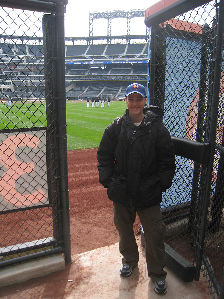 my first game at Citi Field