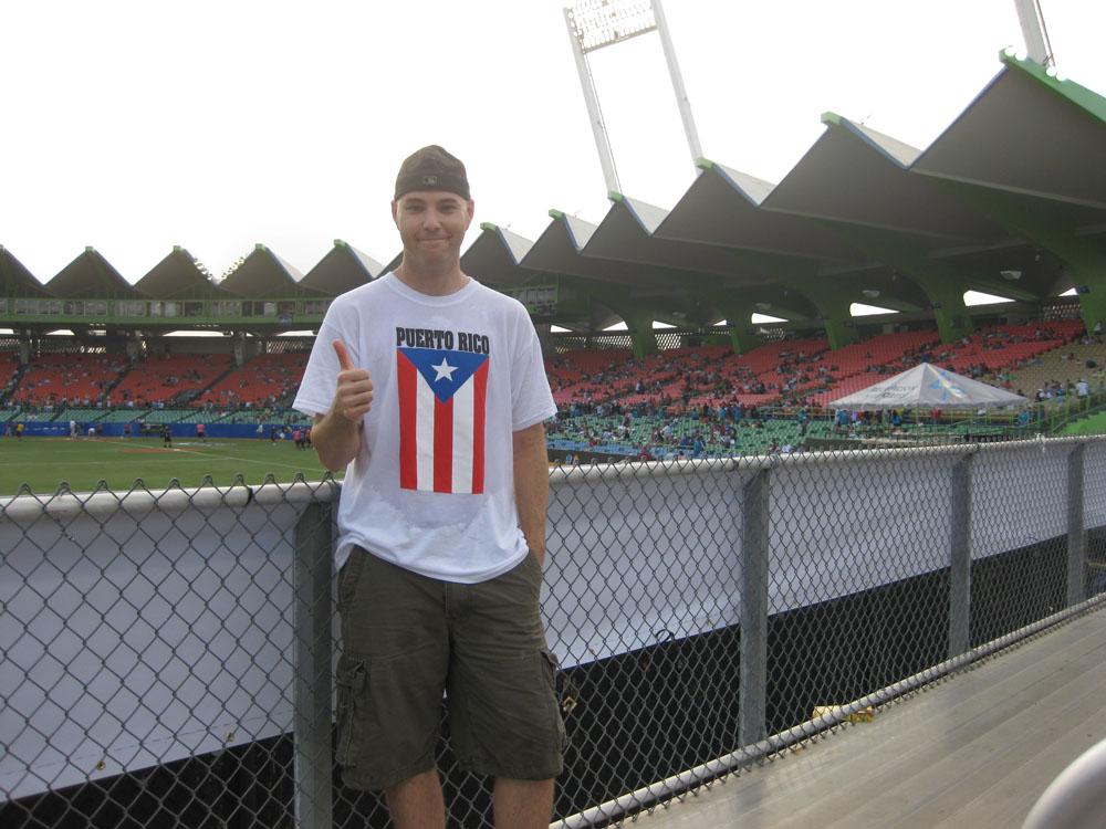 at Hiram Bithorn Stadium