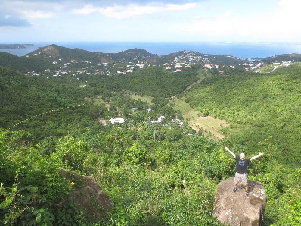at Paradise Peak in St. Martin