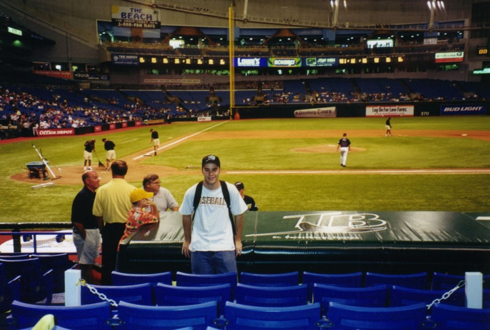at Tropicana Field