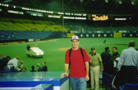 at Olympic Stadium