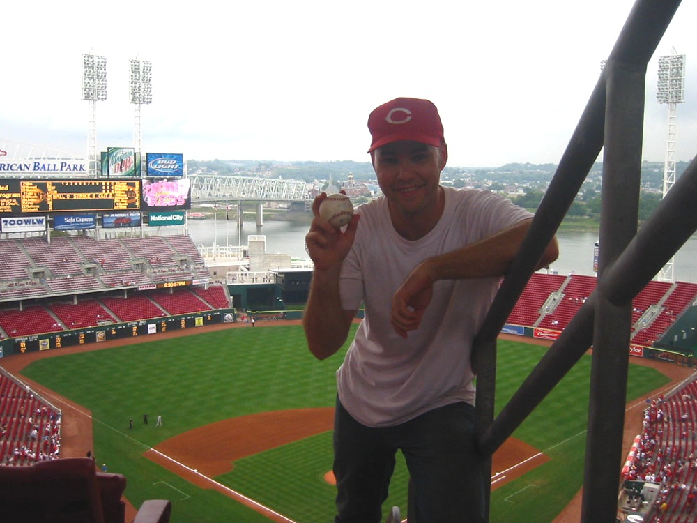 at Great American Ball Park
