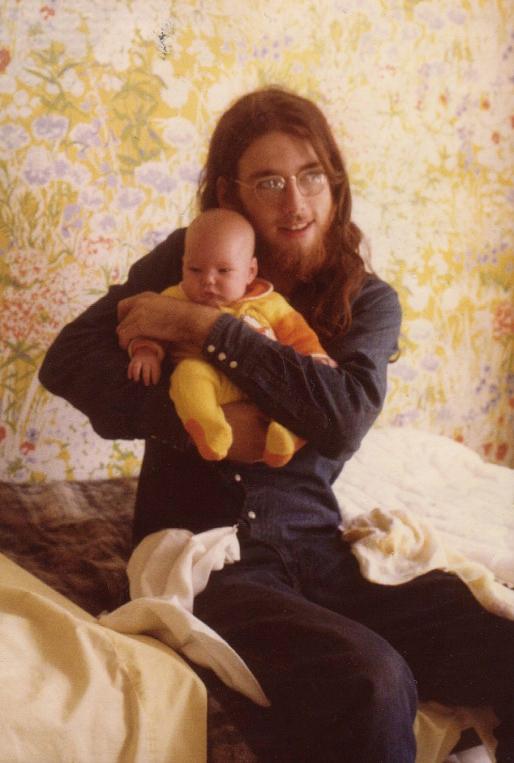 with Jesus (aka my half-brother Henry)