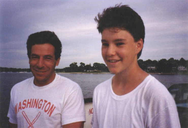 with Steve Mandl (Manny Ramirez's high school baseball coach)