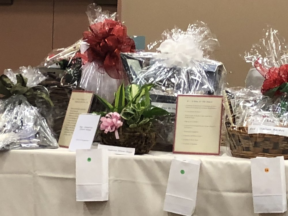 2019 Annual Fundraiser - November 2, 2019 5:30 - 8:30 pm Padre Serra Center5205 Upland Road, Camarillo CADinner, Live Auction, Baskets, 50/50 Tickets - $50 COME JOIN THE FUN!