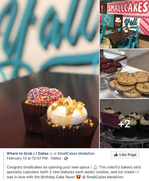 Where to Grub - Facebook mention