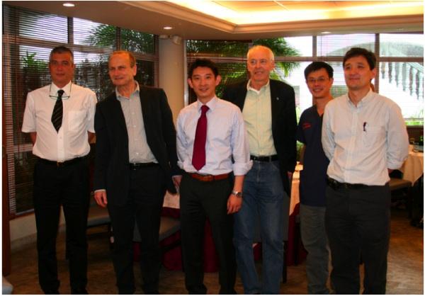 Drs. Aymeric Lim, Peter Bleuler, Jonathan Y. Lee, Reimer Hoffman, Peng Yong-Peng, Tan Ter-Chyan
