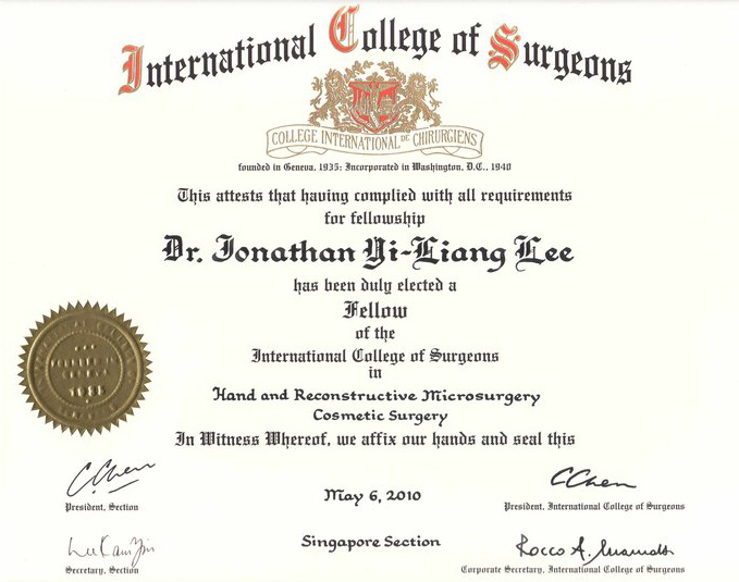 Fellow of the  International College of Surgeons.jpg