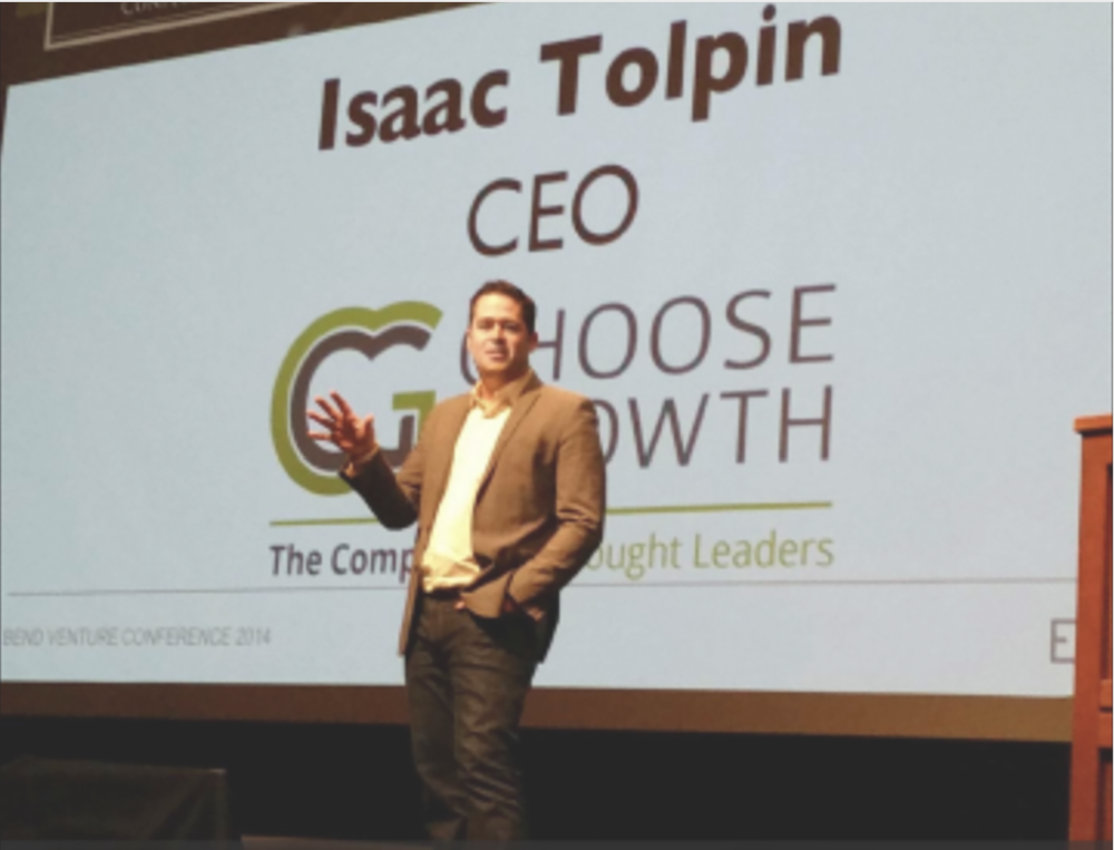 Keynote Speaker - If you want lasting change, you want Isaac. He speaks on culture, innovation, and motivation with post-speech mobile delivered reinforcement challenges.