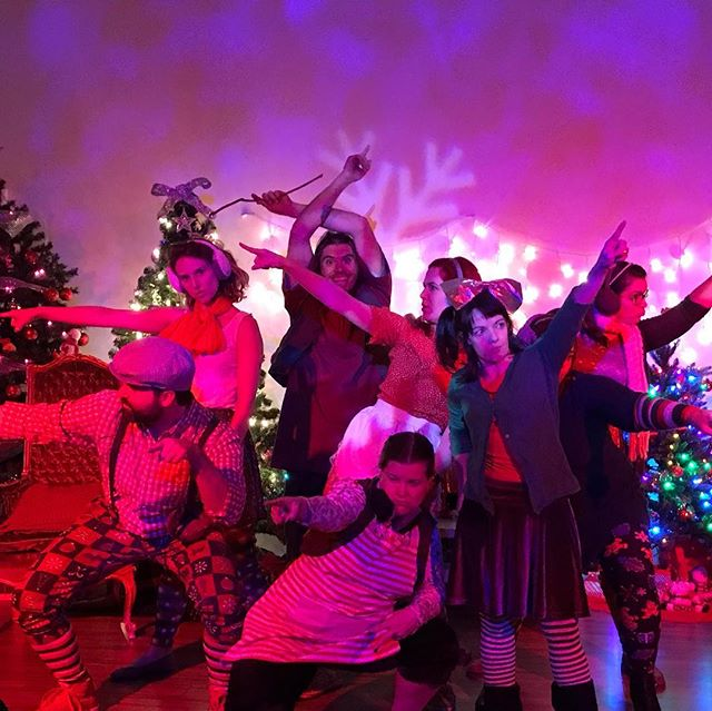 Hey YOU! Did you know there's still three chances left to see Naughty List The Musical this Thursday at 8pm and this Saturday at 3pm and 8pm? (Friday is already SOLD OUT 😱)! Ask us about a special discount code that can get you 50% off online tickets! Don't miss your chance to see this hilarious, dark Christmas tale that proves once and for all that #naughtyisthenewnice ! Also, tomorrow night features a special pre-show performance at 7:30pm by @catalystcomedy 's BUMP, who will perform some improvised Christmas carols that will melt your face and heart! . #naughtylistmusical #christmas #theater #comedy #somerville #naughtyornice #seethisshow