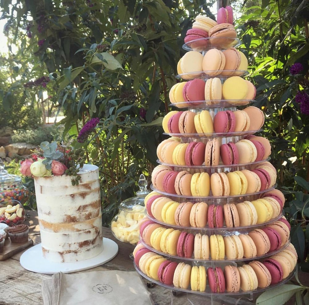 190 Macaron Wedding Tower - Cake by Cakes for Occasions