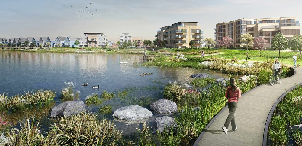 St Edward launches Lakeside Gardens at Green Park Village