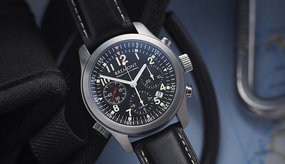 Bremont ALT1-P-BK: a COSC, DLC coated, automatic chronometer.