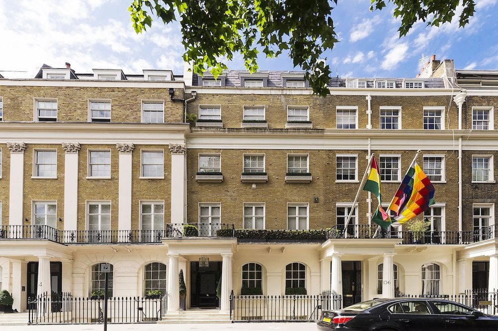 1. Eaton Square, Belgravia, SW1W — £55 million