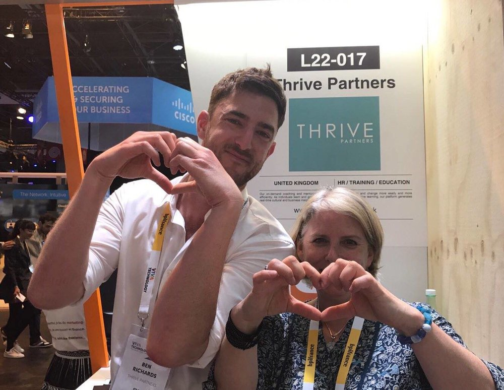 Winning the Coup de Coeur on Manpower's stand at VivaTech Paris (2018)