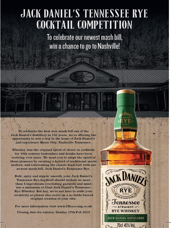 Jack Daniel's Tennessee Rye  - Cocktail Competition - FINAL