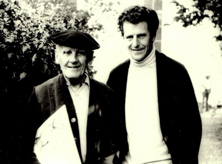 Marcel Moyse und Peter-Lukas Graf (Boswil, 1971)