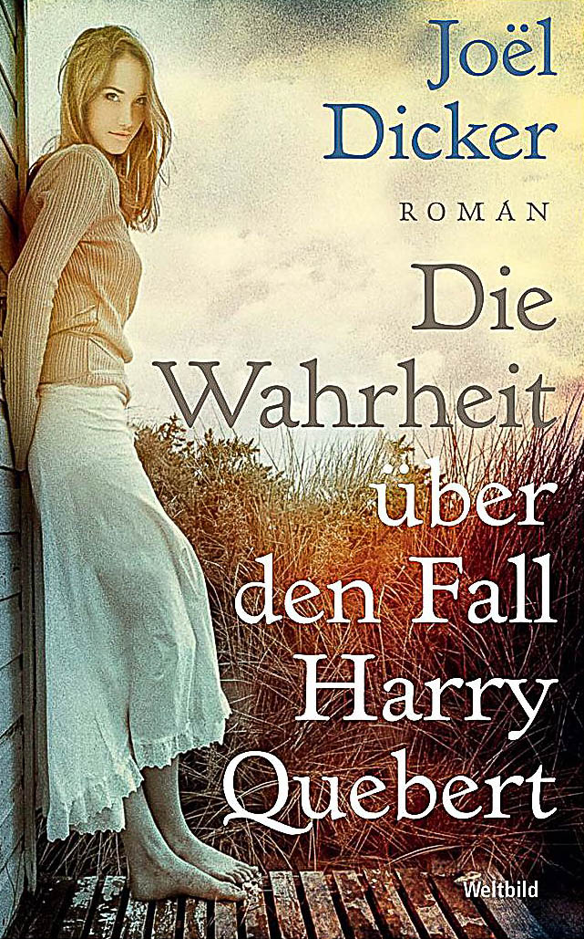 Dicker, Die Wahrheit über den Fall Harry Quebert Book Cover Photograph by Wolf Kettler