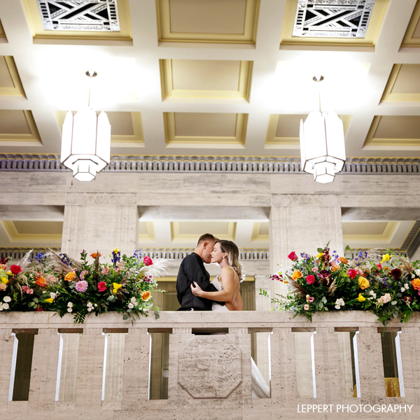 PICTURE PERFECT - With no shortage of beautiful and unique features, The Grande Hall provides numerous backdrops perfect for wedding photos.