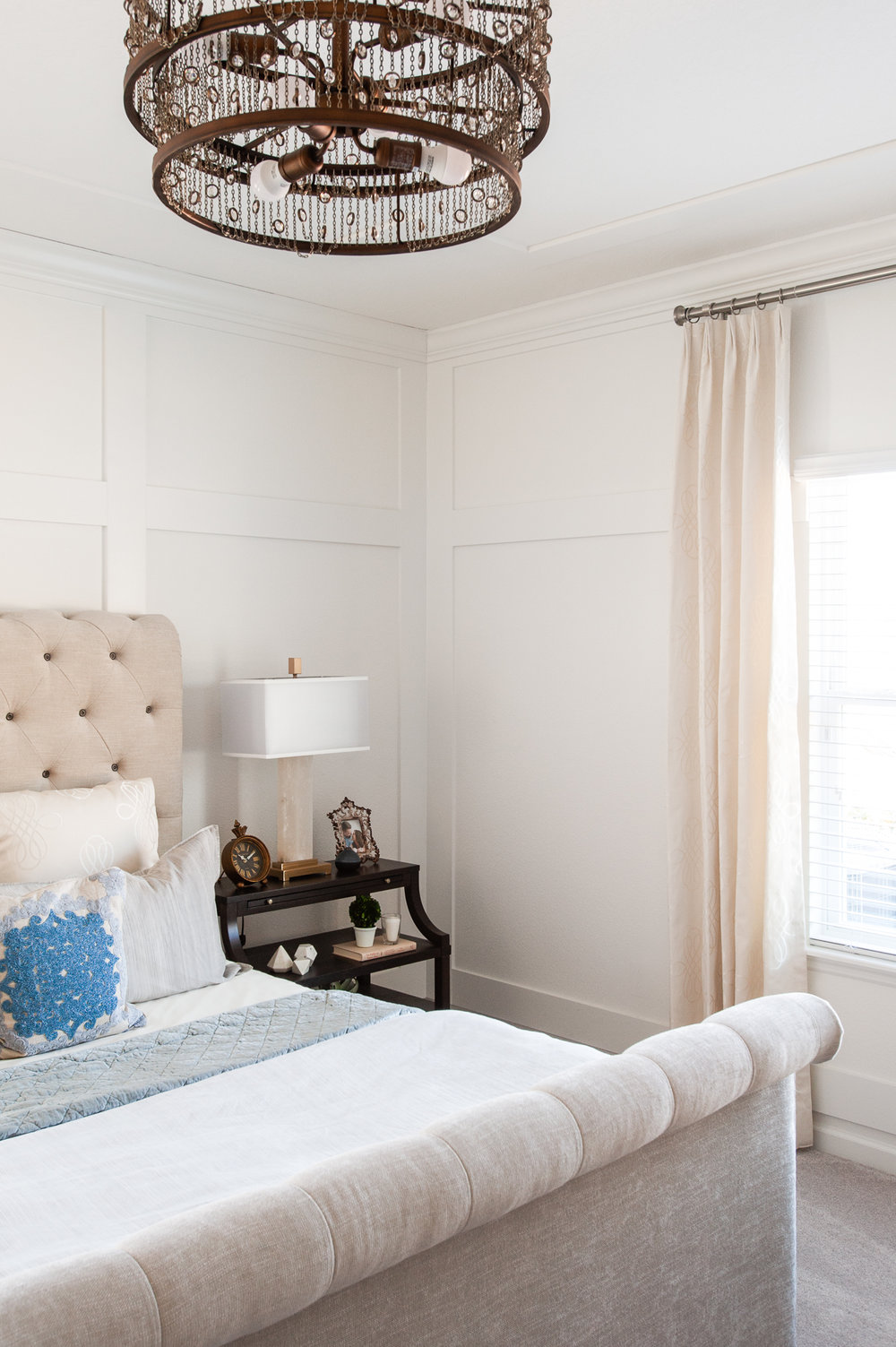 Micamy_Interior Designer_Design_Interior_Model_Merchandising_Owners_Suite_Universal_Furniture_Traditional_Transitional_Upholstered_Headbooard_Bronze_Bedroom_Blue.jpg
