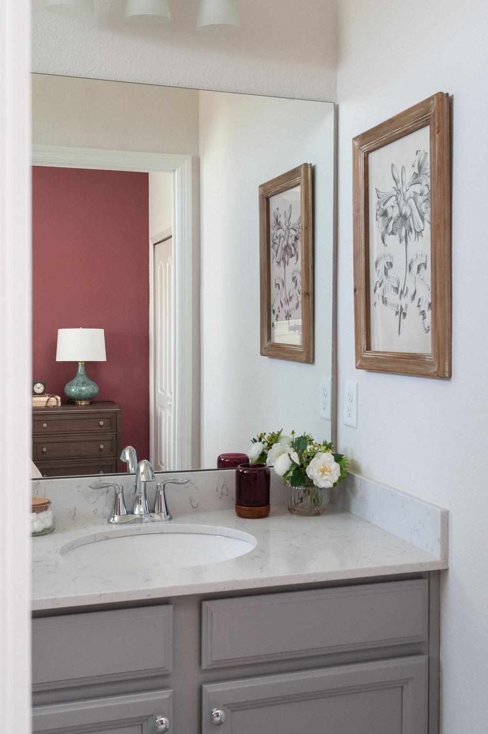 Micamy_Interior Designer_Design_Interior_Model_Merchandising_Guest Bathroom_Accent Wall_Uttemrost_UniversalFurniture_Schumacher_AmityBedding_Lennar_Blog.jpg