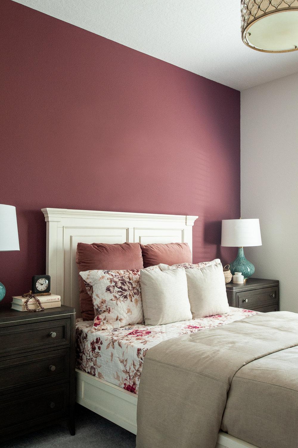 Micamy_Interior Designer_Design_Interior_Model_Merchandising_Guest Bedroom_Accent Wall_Uttemrost_UniversalFurniture_Schumacher_AmityBedding_Lennar_Blog.jpg
