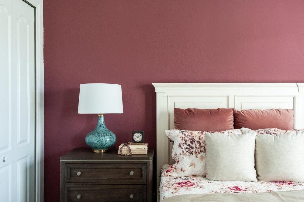 Micamy_Interior Designer_Design_Interior_Model_Merchandising_Guest Bedroom_Accent Wall_Uttemrost_UniversalFurniture_Schumacher_AmityBedding_Lennar_Blog_Styling.jpg