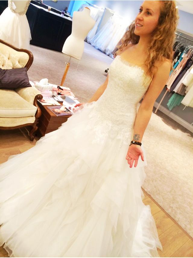 wedding dress Chelsea Ray