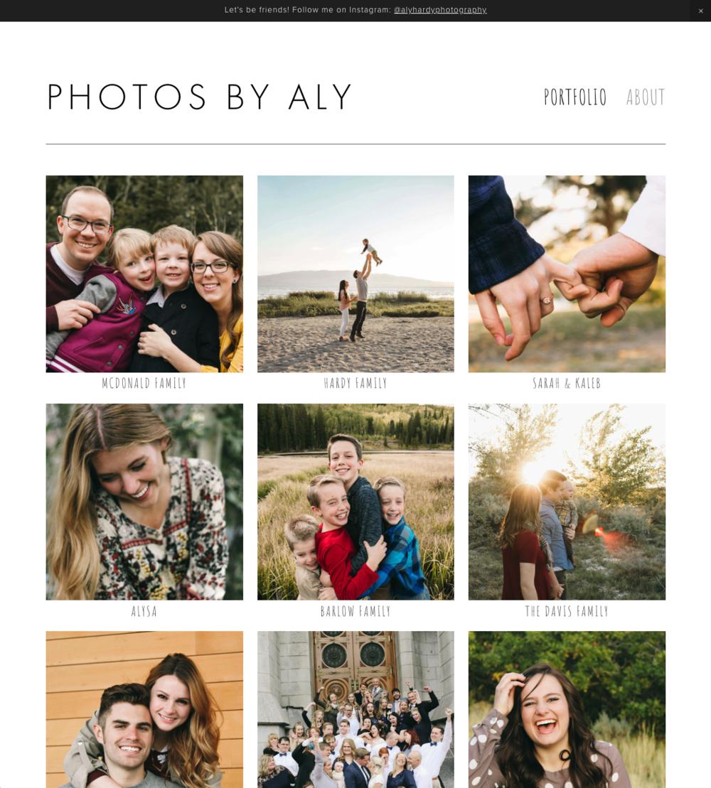 Photos By Aly - A photographer's portfolio