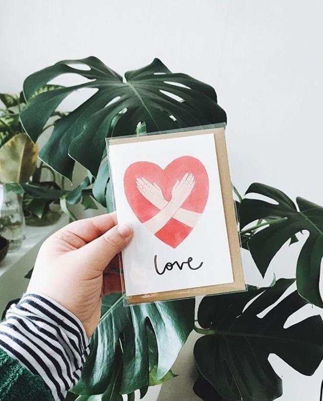 VALENTINE'S CARDS BY    KATRINA SOPHIA     Say it with sign language! We love this collection of meaningful greetings cards inspired by British Sign Language, from independent artist Katrina Sophia.    £3.50    Shop the full range    here