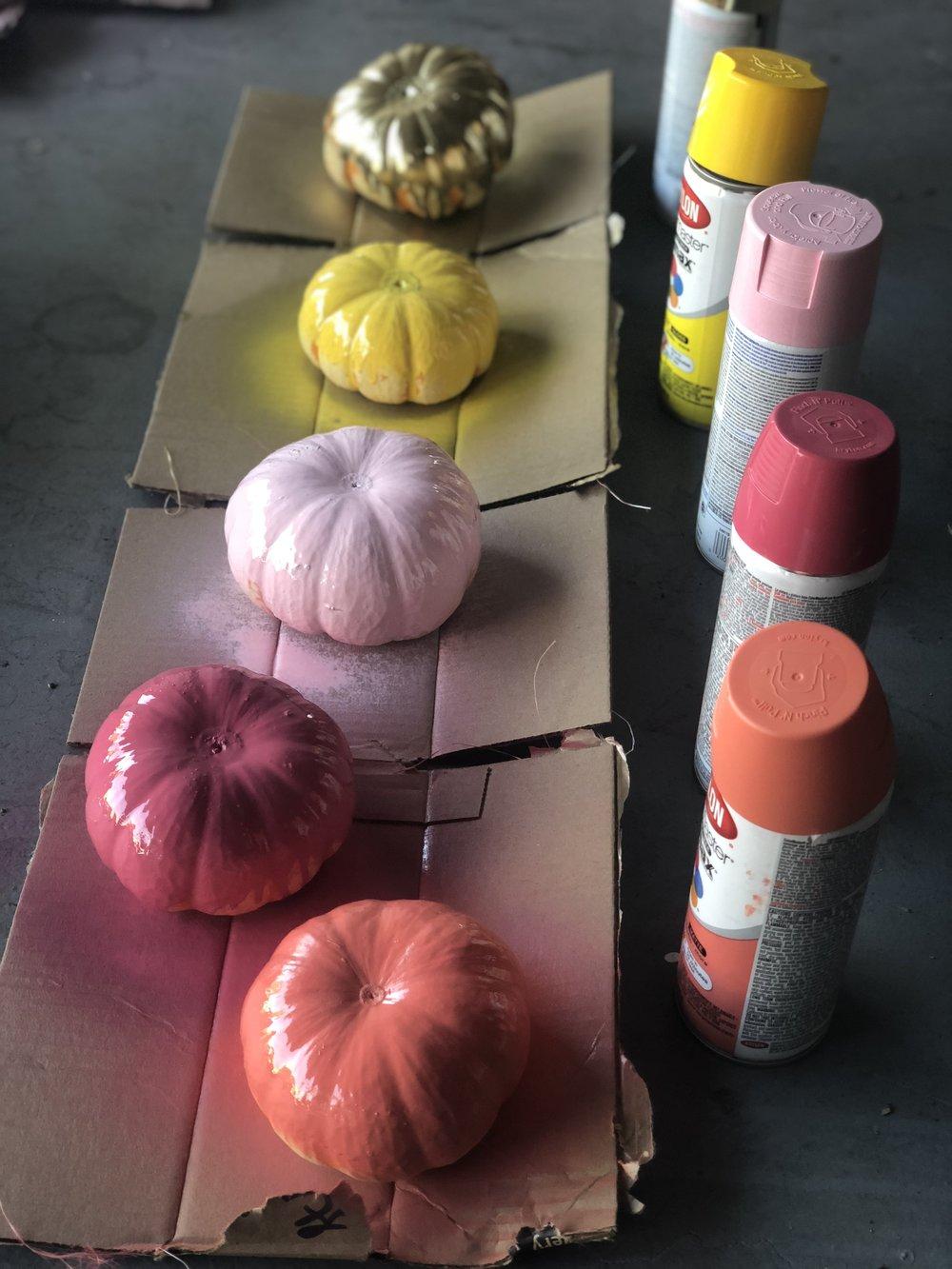 DIY painted pumpkin decor multi color.jpg