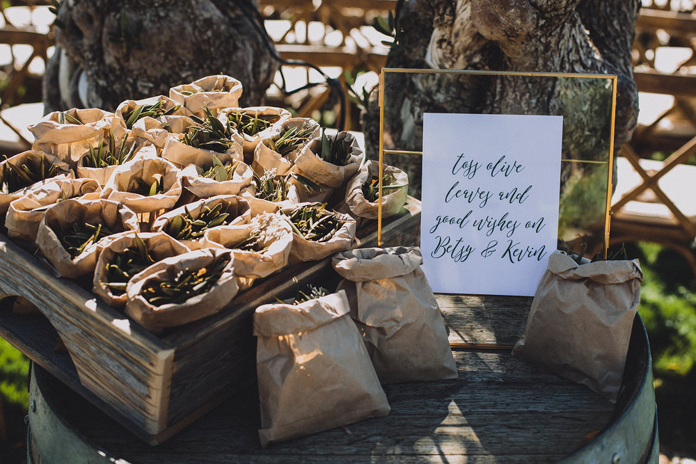 Olive leave toss wedding ceremony.jpg