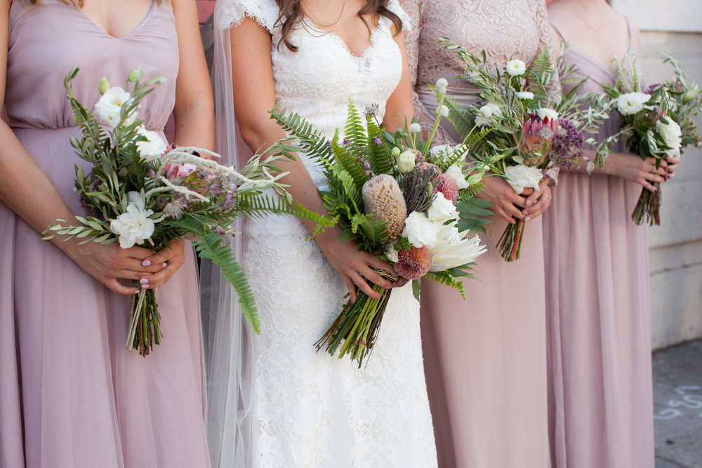 Unique pink and white wedding bouquet.jpg