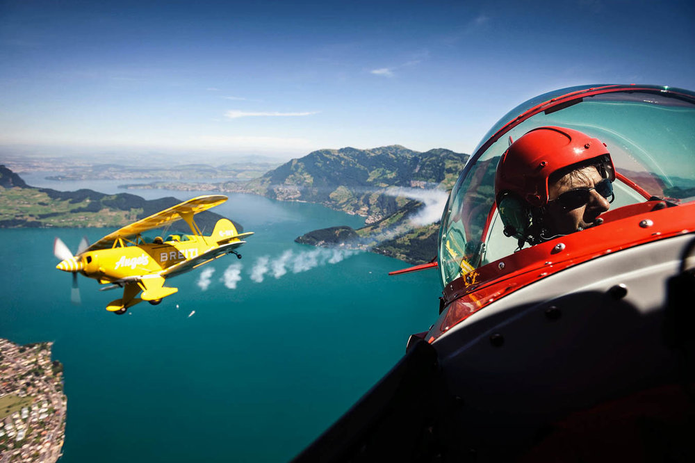 "Pitts S-2A Special - ""Breitling Angels"""