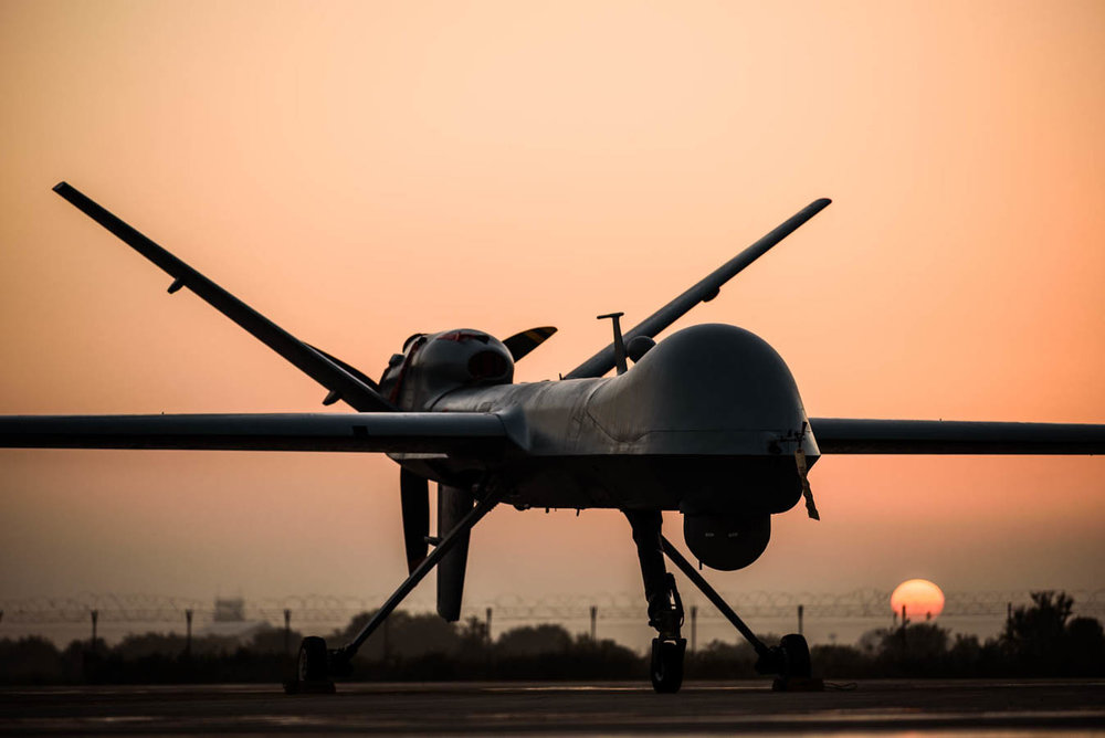 """General Atomics MQ-9A """"Predator B"""" - 32° Stormo Amendola - Aeronautica Militare"""