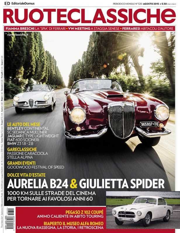 Ruoteclassiche_Lancia_Aurelia_B24-Alfa_Romeo_Giulietta_Spider_cover.jpg
