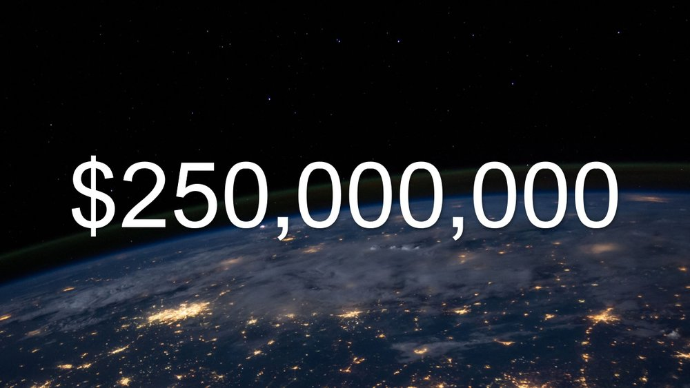 $250 Million Crypto