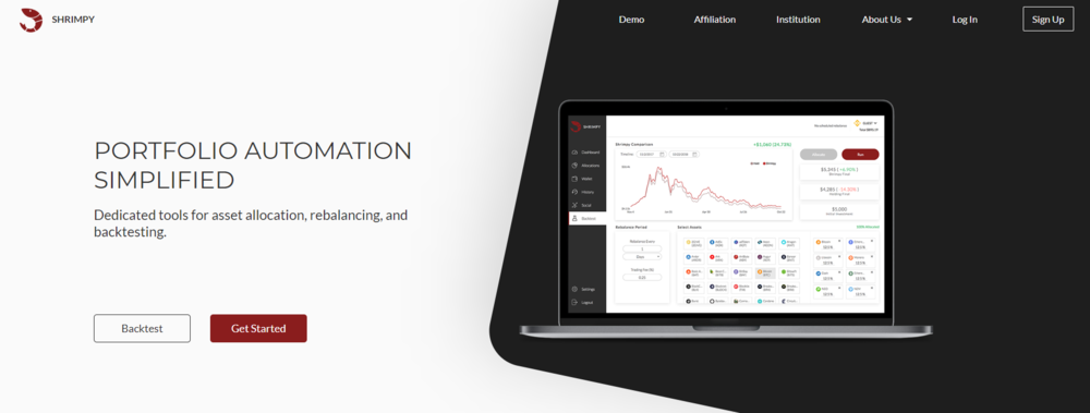 Shrimpy — Cryptocurrency Portfolio Management