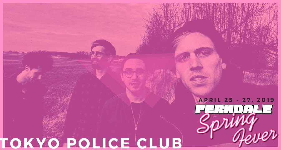 Tokyo Police Club FSF 2018