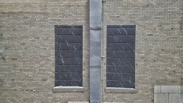 Two black rectangles.  #digitalphotograph