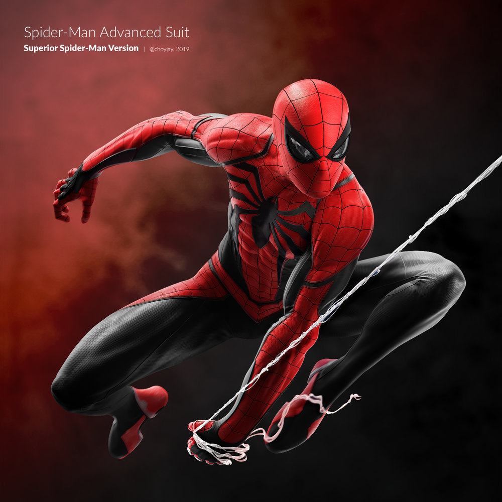 Superior Spider-Man Redesign