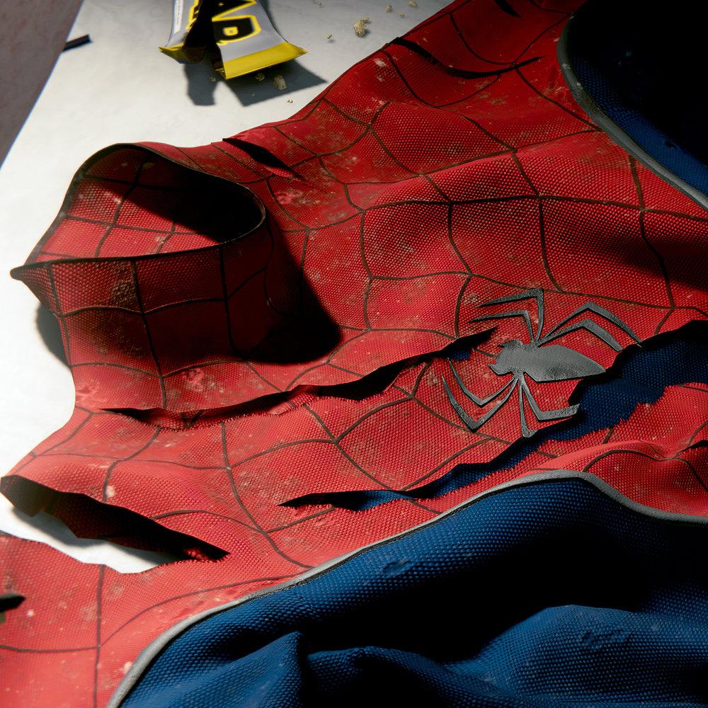 Spider-Man Digital Cosplay